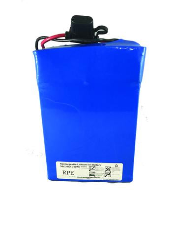 48V 36Ah Lithium Ion Battery - EbikeMarketplace