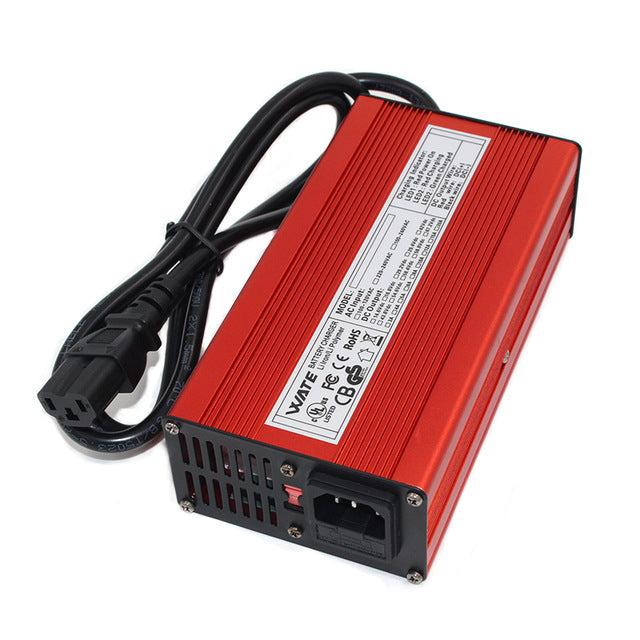 72V 6A Lithium Polymer / Li-ion Battery Charger - EbikeMarketplace