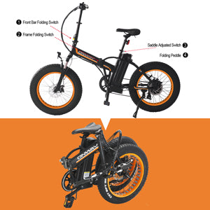 Onway Fat Tire 20'' 350W 36V system - EbikeMarketplace