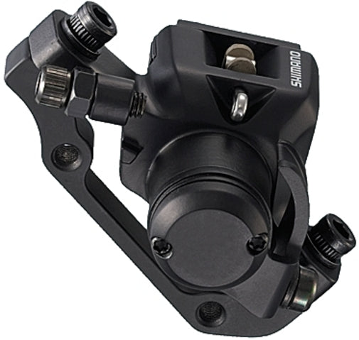 Details about  /Shimano BR-M375 Mechanical Disc Brakes Caliper Front /& Rear Calipers Black