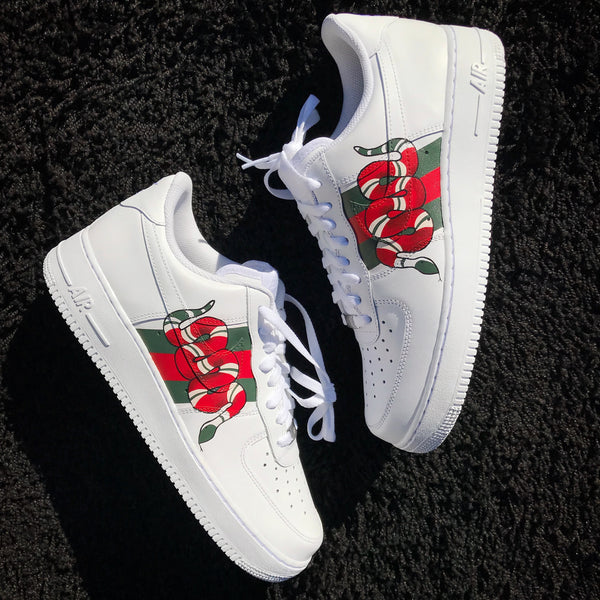 Gucci Snake Inspired Air Force 1