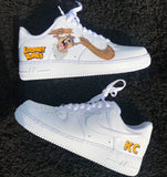 Taz Inspired Air Force 1