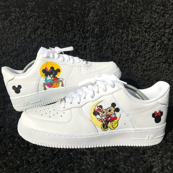 Mickey & Minnie Mouse Inspired Air Force 1