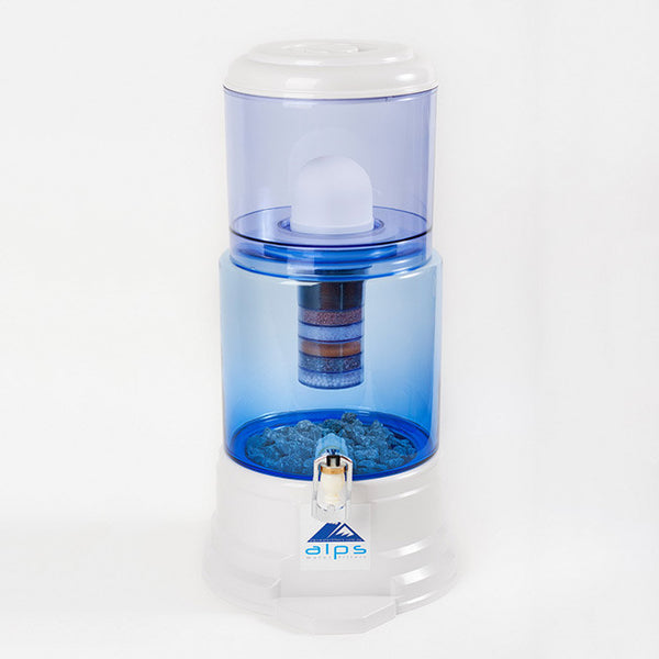 Alps Water Filter Glass 14 Litre