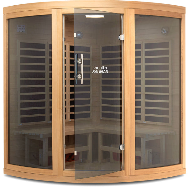 Corner Deluxe Far Infrared Sauna
