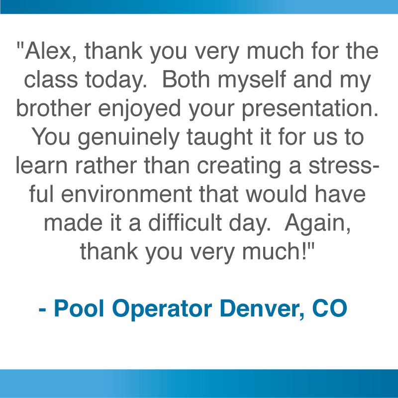 Pool Training Academy Colorado Denver Loveland Ft. Collins CPO Class Denver CPO Course Denver