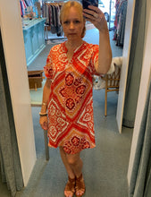 Shift Dress Tangerine