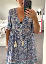 Kiki Mini Dress Blue