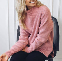 Jumper Luxe Knit Soft Pink