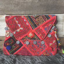 Banjara Vintage Clutch Handmade with Coin Detail Handmade