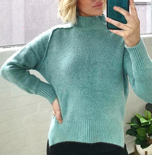 Jumper Luxe Knit Teal - Last ones SM