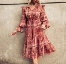 Bohemian Paris Dress