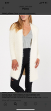Cardigan Faux Fur White