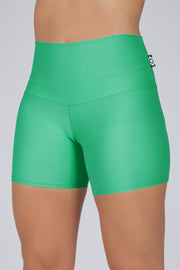 (R2W) Jade Performance - High Waisted Booty Shorts