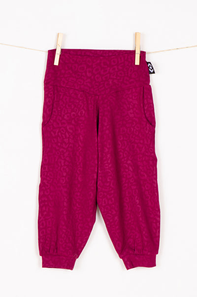 (R2W) Berry Soft To Touch Exotic Jag - Kids Jogger Capris