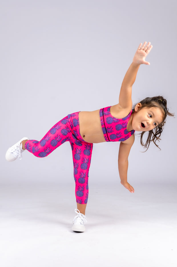 (R2W) Party Like A Pineapple Performance - Kids Capris