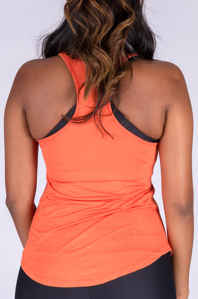 (R2W) Copper Slinky To Touch - Racer Back Tank Top - Exoticathletica