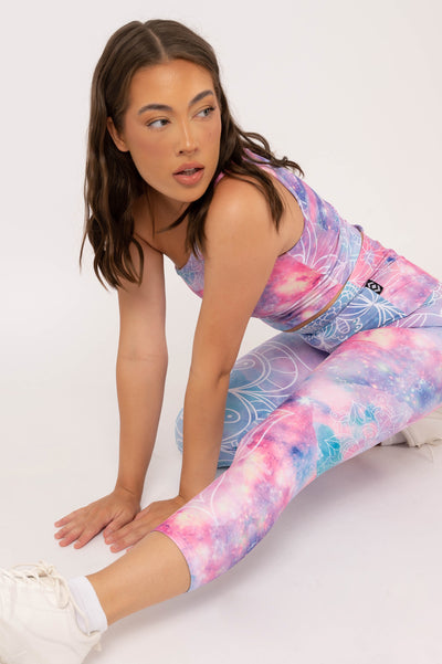 (R2W) Black Performance - High Waisted Long Shorts