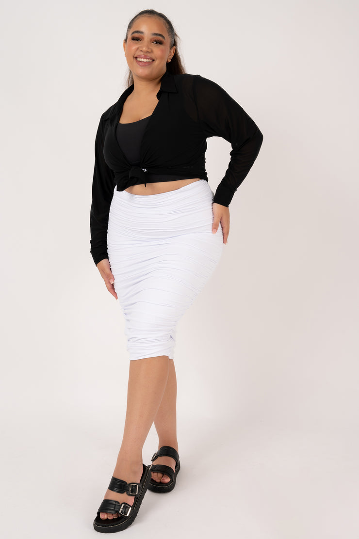 (R2W) Black w/ Black - REVERSIBLE ONE PIECE Cross back top w/ Extra Coverage Bottoms