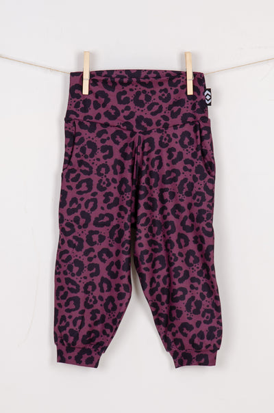 (R2W) Wine Jag Soft to Touch - Kids Jogger Capris