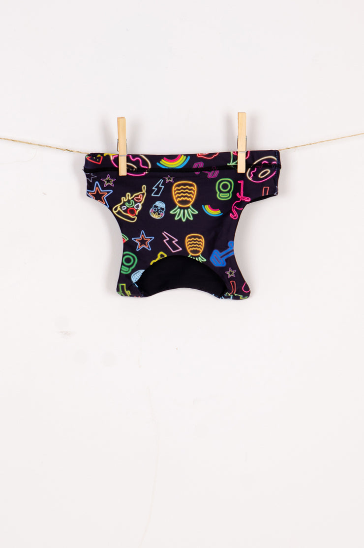 (R2W) Neon Treats Performance - Kids Crop Top