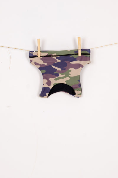 (R2W) Commando Camo Performance - Kids Crop Top
