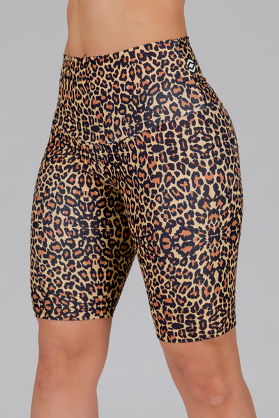 (R2W) Find Your Wild Performance - High Waisted Long Shorts