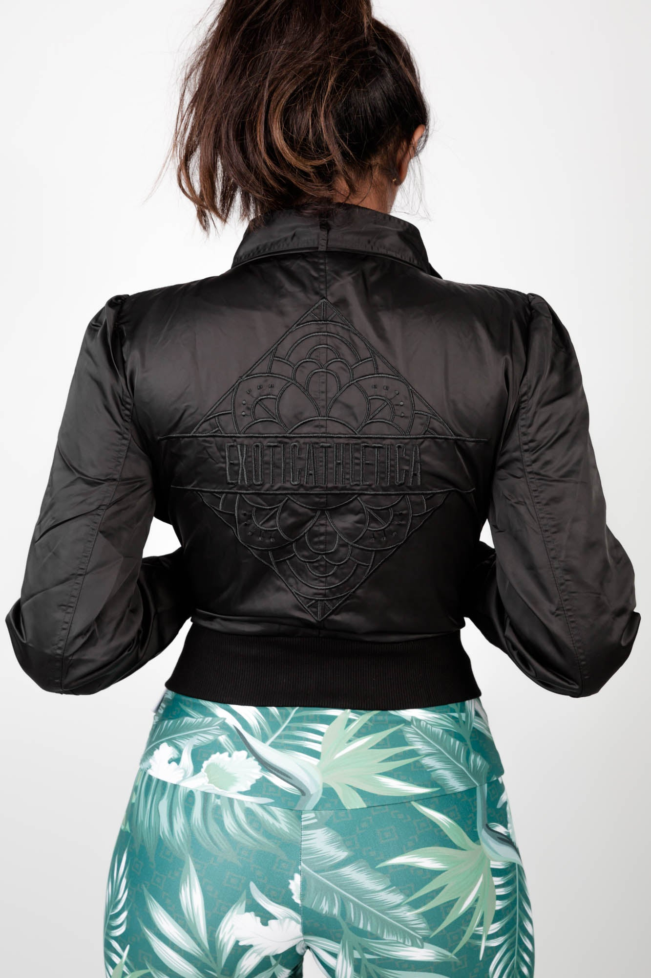 LIMITED EDITION Exoticathletica BOMBER JACKET - Black,  - exoticathletica - australian made activewear & swimwear