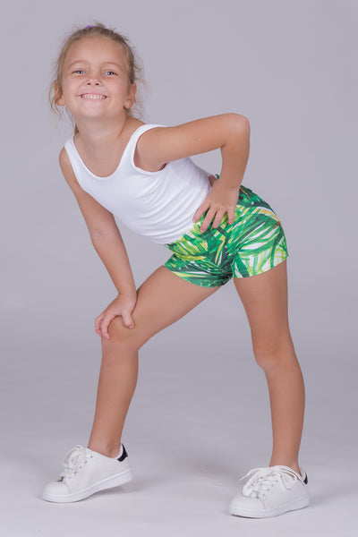 (R2W) Palm Paradise Performance - Kids Shorts