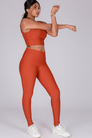 (R2W) Copper Performance - High Waisted Leggings
