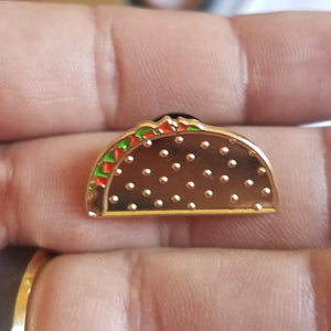 The Golden Taco pin