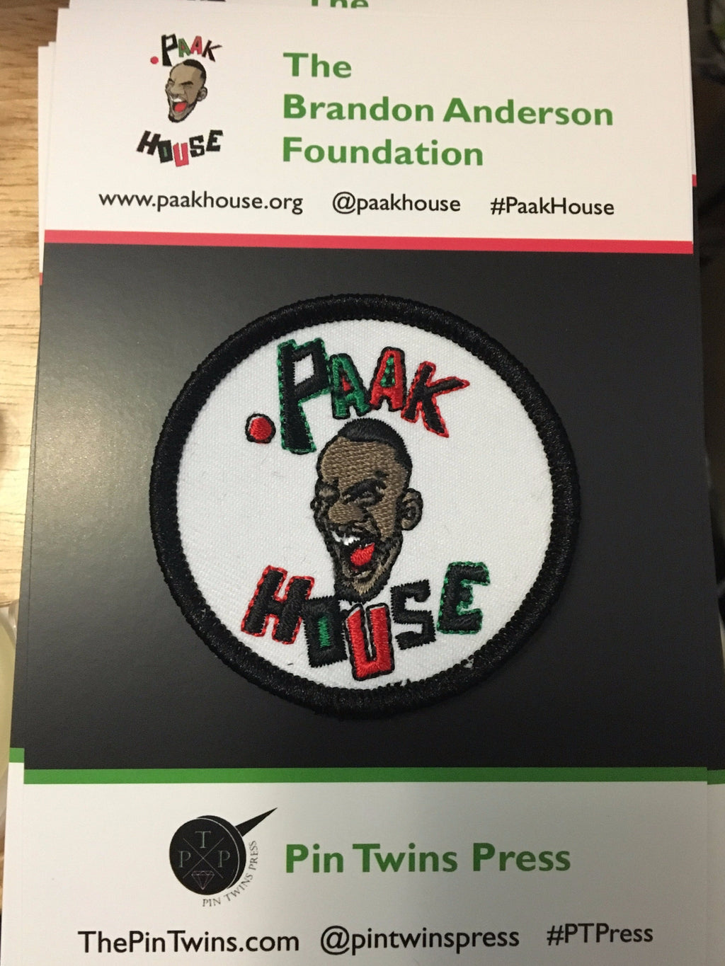 .Paak House patch