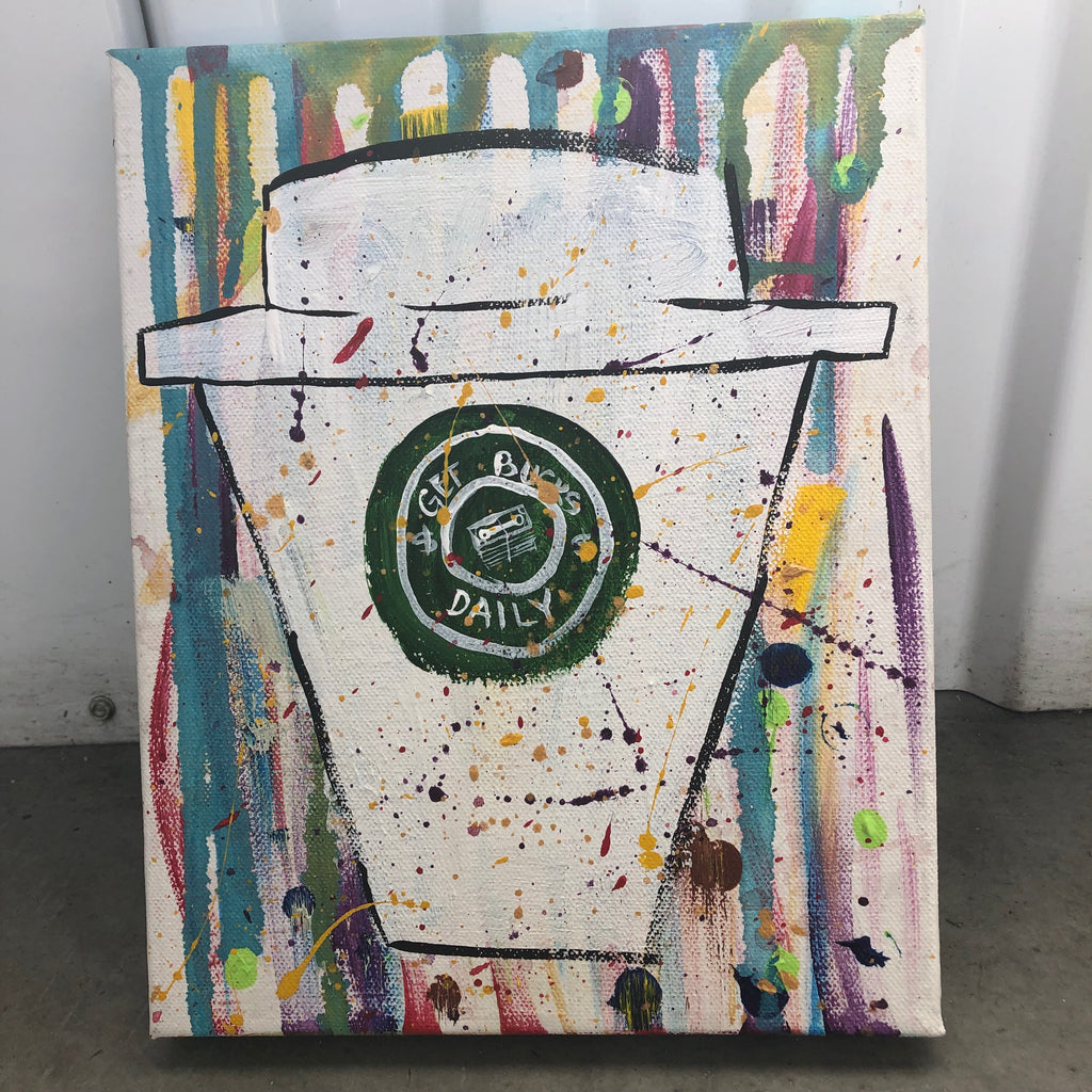 Get Bucks Daily (8x10, canvas)