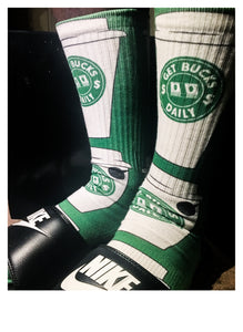 Get Bucks Daily socks (SAMPLE SALE)