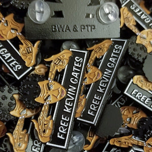 LIMITED EDITION: BWA x PTP Official Free Kevin Gates Pin