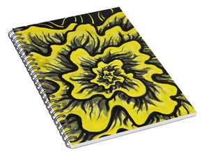 Dynamic Thought Flower #3 - Spiral Notebook