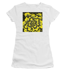 Dynamic Thought Flower #3 - Women's T-Shirt (Athletic Fit)