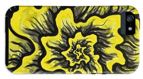 Dynamic Thought Flower #3 - Phone Case