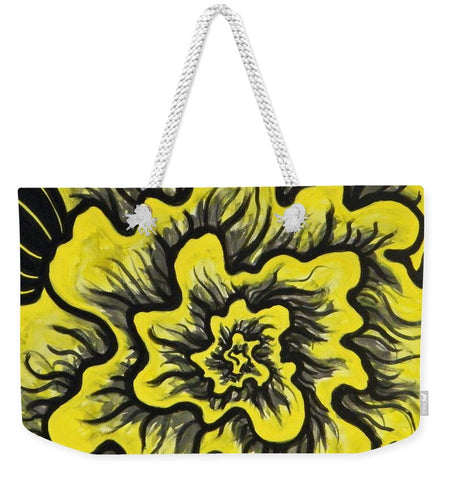 Dynamic Thought Flower #3 - Weekender Tote Bag