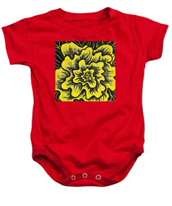 Dynamic Thought Flower #3 - Baby Onesie