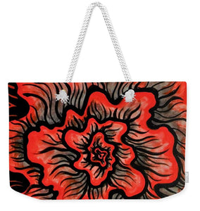 Dynamic Thought Flower #5 - Weekender Tote Bag