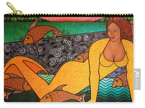 Mermaid And Friends - Carry-All Pouch