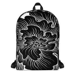 Static Thought Flower Backpack
