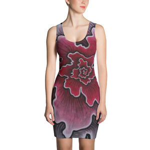 Dynamic Thought Flower 3 - Sublimation Cut & Sew Dress