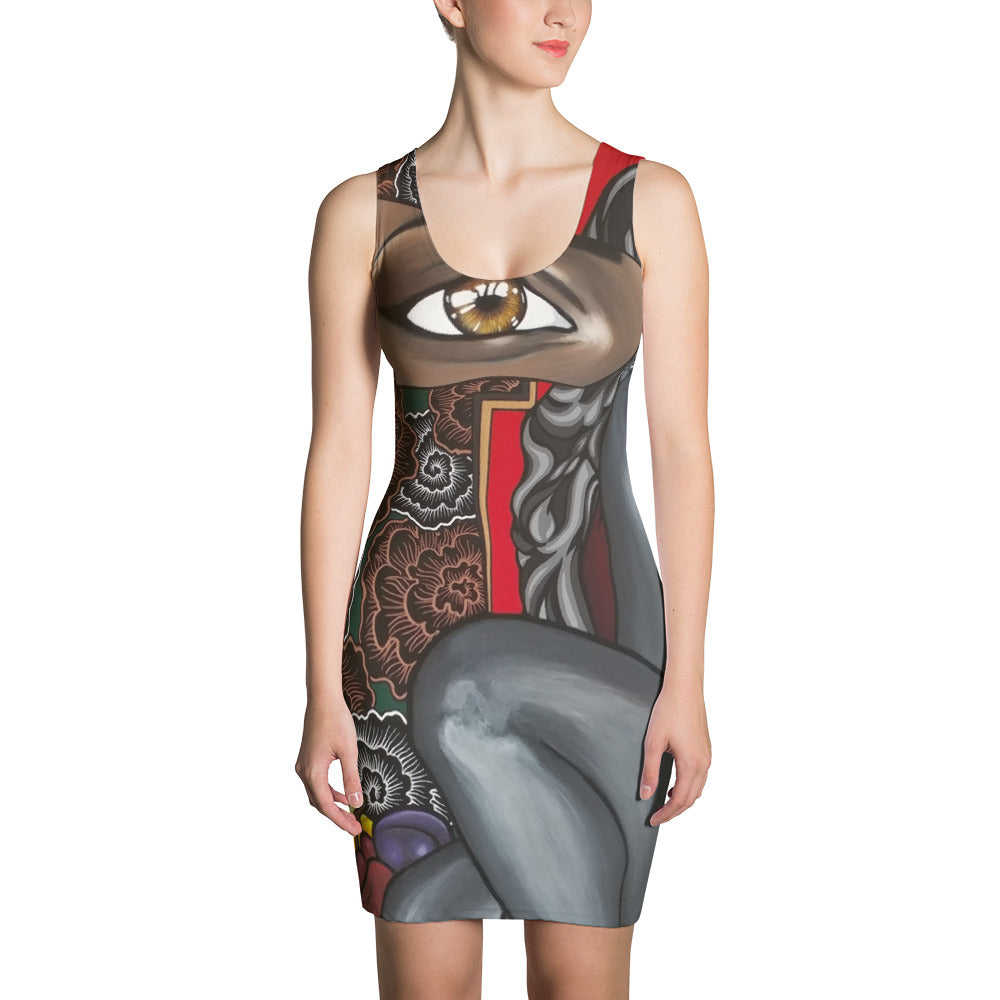 Forbidden - Sublimation Cut & Sew Dress