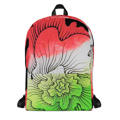 Dynamic Thought Flower # 5 - Backpack