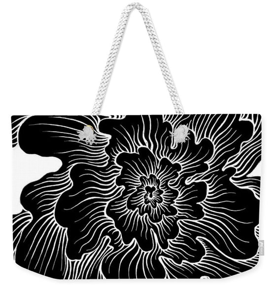 Static Thought Flower - Weekender Tote Bag