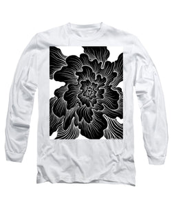 Static Thought Flower - Long Sleeve T-Shirt