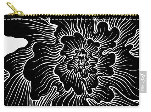 Static Thought Flower - Carry-All Pouch