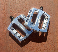 Demolition Trooper Pedal - Aluminum - Polished Silver